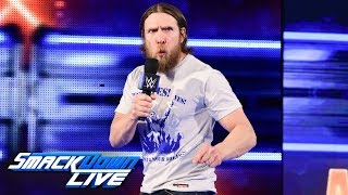 Daniel Bryan issues WrestleMania challenge to Kevin Owens & Sami Zayn:SmackDown LIVE, March 27, 2018
