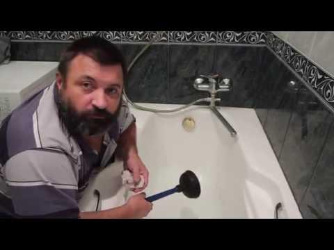 Как прочистить канализацию: удаление пробки в трубах