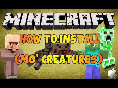 How to Install MineCraft Mods! (MAC)(1.5.1)(MO'CREATURES)