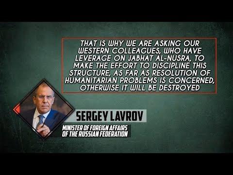 20 февраля 2018. Военная обстановка в Сирии. Лавров призвал Запад дисциплинировать Джебхат ан-Нусру.