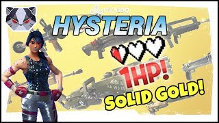 Hysteria | Fortnite Battle Royale - 1 HP - Solid Gold v2 Playlist
