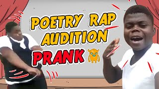 Poetry Rap Audition Prank - Ownage Pranks