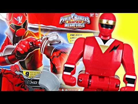 Power Rangers Super Megaforce DX Hand Gear Review! (Alien Ranger Key)