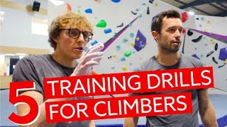 Five Training Drills Every Climber Should Do - with Louis Parkinson