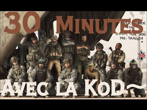 30 Minutes avec la KoD~ sur Modern Warfare 3