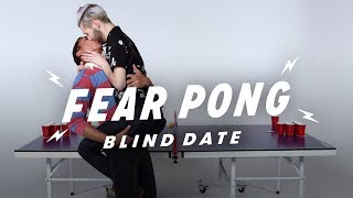 Blind Dates Play Fear Pong (Braidon vs. Curtis)   Fear Pong   Cut