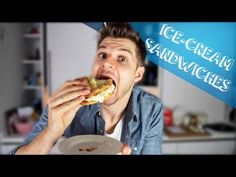 ICE CREAM SANDWICHES #BAKINGWITHJIM
