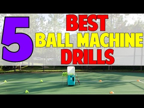 5 Best Ball Machine Drills