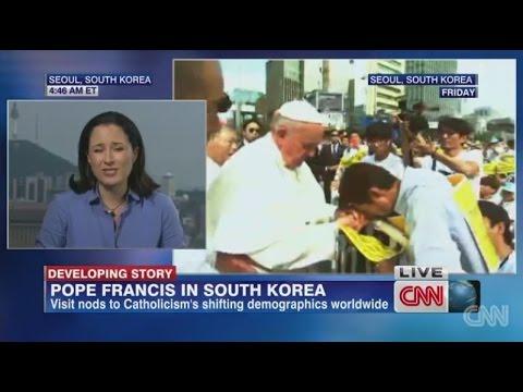 프란시스 교황(Pope Francis), 세월호 단식 39째 김영오님 특별법 제정초 촉구