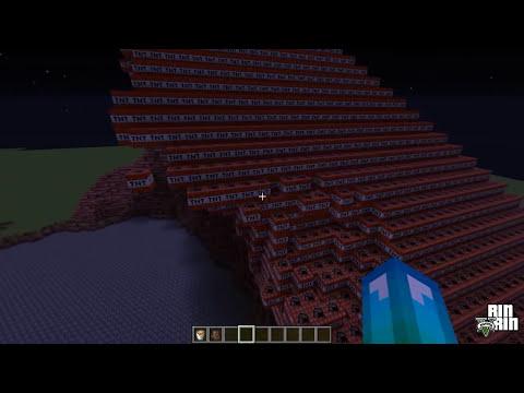 Explotando piramide 3.000.000 TNT - Minecraft [DESCARGAR GRATIS]