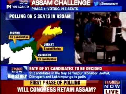 BRKG NEWS 2; Voting begins in Assam, Tripura