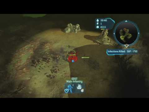 Halo Wars: Ramblin Man Achievement and 8th Hidden Skull Video
