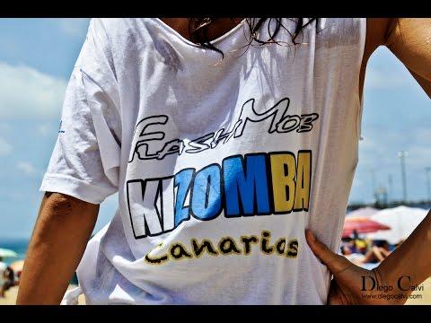 FLASH MOB KIZOMBA CANARIAS SEGUNDA EDICION COREOGRAFIA