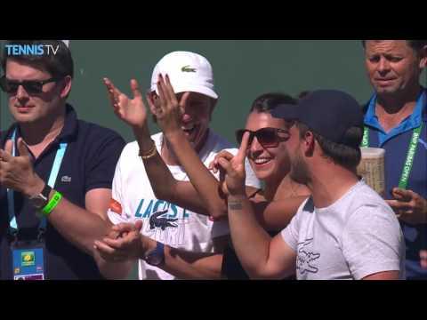 2016 BNP Paribas Open, Indian Wells: Thursday Highlights