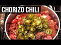 Chorizo Chili recipe by the BBQ Pit Boys
