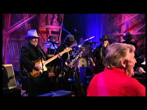 "Willie Nelson, Jerry Lee Lewis, Merle Haggard & Keith Richards  - ""Truble In Mind"""