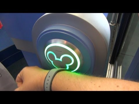 MagicBand Testing at Resort Room Door, Epcot Attractions and Food Purchase, MyMagic+, FastPass+