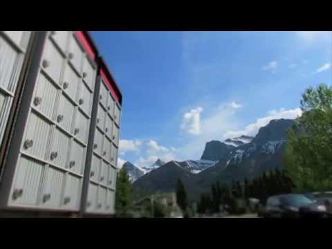 Canada Post Tilt Shift Rockies HD