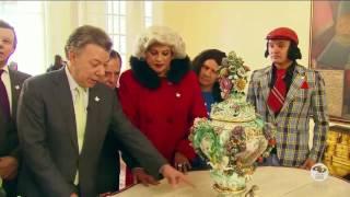 Maratón del humor: Hassam con Juan Manuel Santos| Sábados Felices