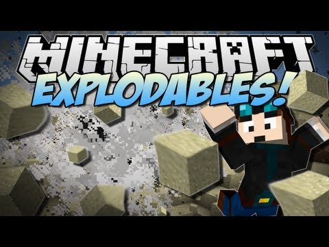 Minecraft | EXPLODABLES! (Dr Trayaurus the Great!) | Mod Showcase [1.6.2] – 2MineCraft.com