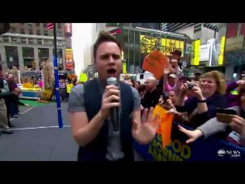 Olly Murs 'Troublemaker' Song Performed Live on 'Good Morning America'  Video - ABC News