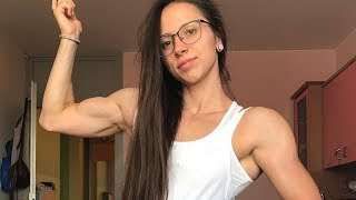 20 years old muscle girl Aisa Krivec
