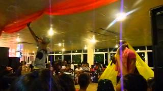 ztreet zoldierz live in the crazy talent show D-mus entertainment suriname
