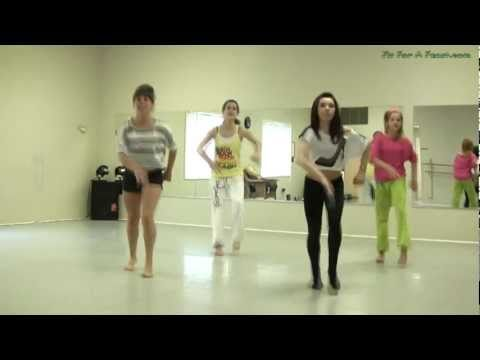 Party Rock Anthem - Shuffle Dance Tutorial -part 2 video