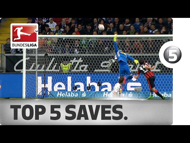 Top 5 Saves - Neuer, Sommer and More with Incredible Stops
