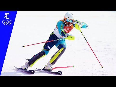 Alpine Skiing | Men's Slalom Highlights | Pyeongchang 2018 | Eurosport