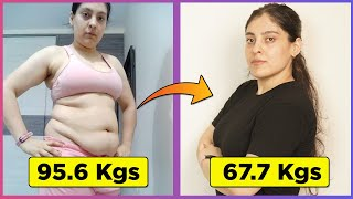 Before & After 28 Kg 62 Pound Weight Loss Transformation, Journey & Tips