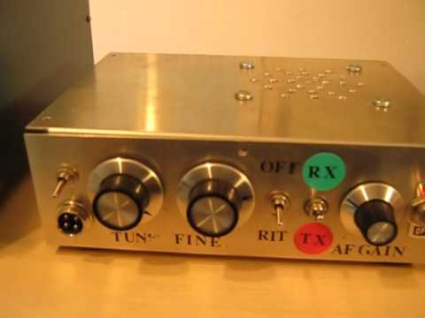 homebrew 40m dsb transceiver