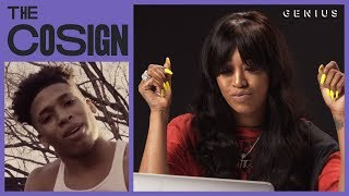 Trina Reacts To New Southern Rappers (NLE Choppa, DaBaby, City Girls) | The Cosign