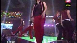 super junior dancing out live (red)