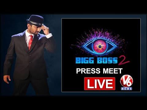 Big Boss 2 Press Meet LIVE | Actor Nani | V6 News
