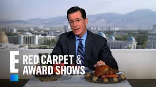 Stephen Colbert Wins Favorite Late Night Talk Show Host | E! People's Choice Awards