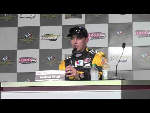 Graham Rahal's 2013 Indy 500 Pole Day Press Conference