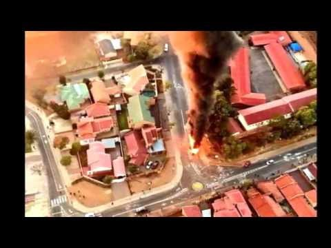 South African News - Riots In Tshwane Pretoria - Images The SABC Did Not Want You To See