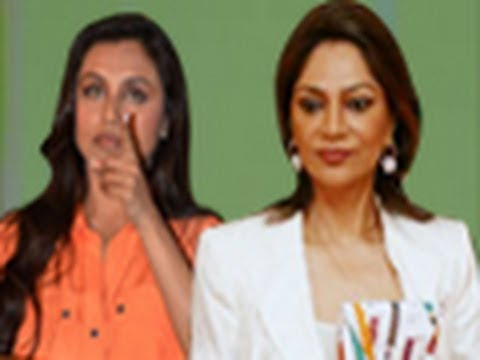 India's Most Desirable With Simi Garewal, Rani Mukherjee Gets Angry During The Shoot video