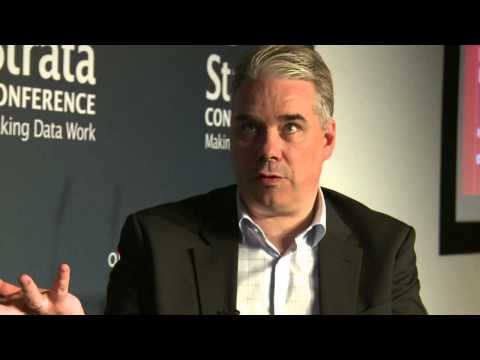 Mikel Bisgaard-Bohr (Teradata Corporation) interviewed at  Strata Conference London 2012