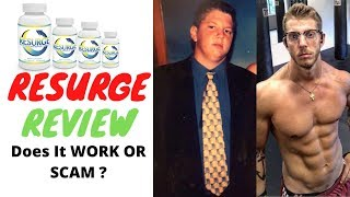 Resurge Review 2020    Does It Work OR Scam ❓  Resurge Weight Loss Supplement Review ❗