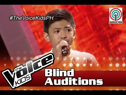 """The Voice Kids Philippines Blind Auditions 2016: """"Jar Of Hearts"""" by Thaddeus"""