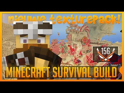 NIEUWE TEXTURE PACK? - Minecraft Survival Build #156