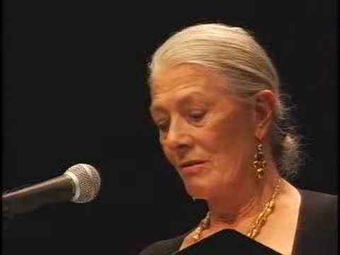Poems From Guantanamo: Vanessa Redgrave- Culture Project Video