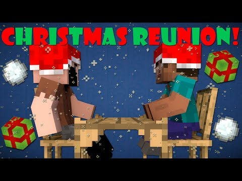If Notch And Herobrine Had A Christmas Reunion Minecraft