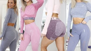 WOW GYMSHARK... DROPPING 3 NEW SEAMLESS?! | Full Review & Try on Haul | VITAL ENERGY FLEX