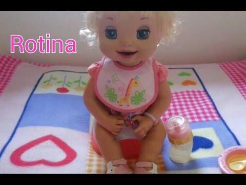 Rotina da Manhã da minha Baby Alive - Maria Clara