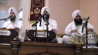 Bhai Satwinder Singh Ji Delhi Wale Dhinas Rayn Har Kirtan Gayeeyay
