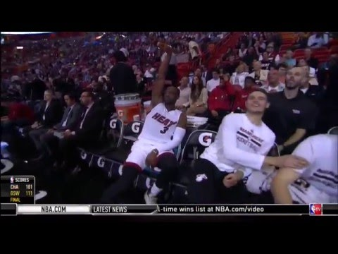 January 04, 2016 - NBATV - Game 34 Miami Heat Vs Indiana Pacers- Win OT (21-13)(NBA Gametime)