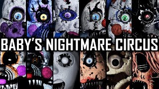 Baby's Nightmare Circus - All Jumpscares (Complete)
